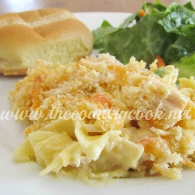 Country Chicken Noodle Casserole | Favorite Recipes | Pinterest
