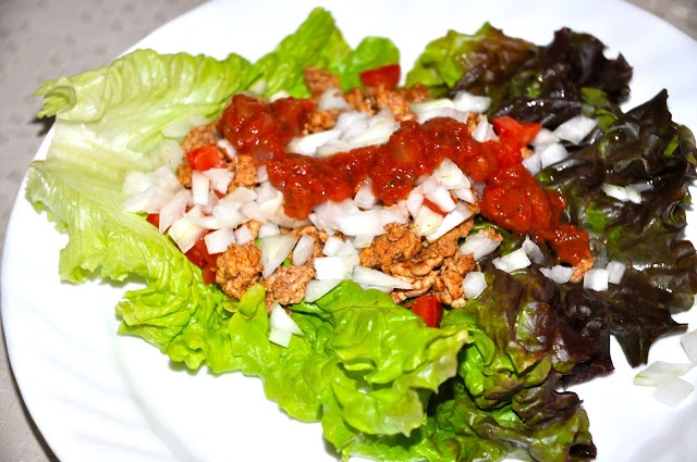 Lettuce wrap turkey tacos | health and beauty | Pinterest