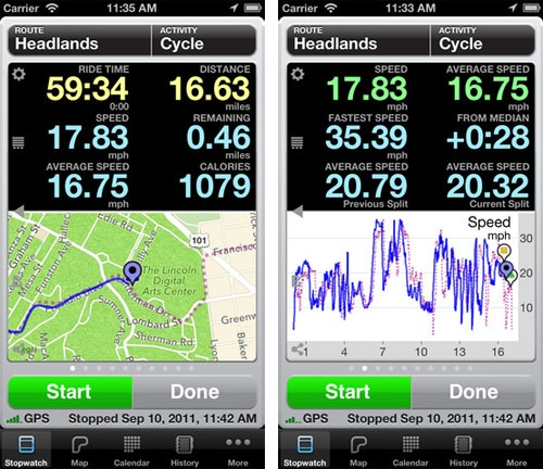 distance tracking app for iphone