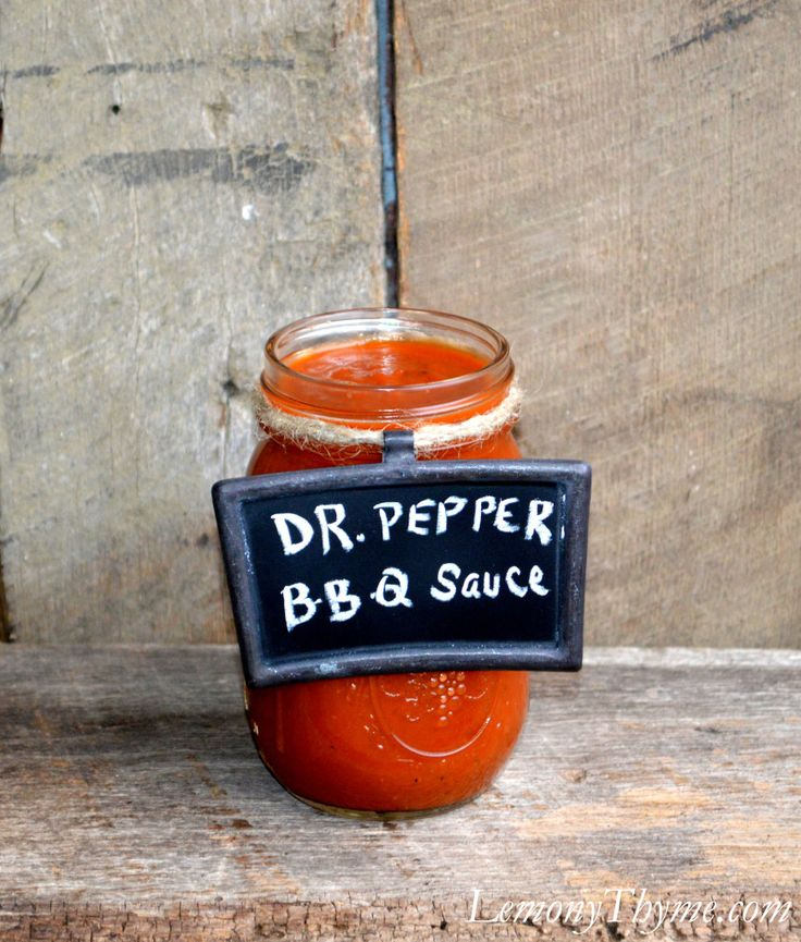 Dr. Pepper BBQ Sauce | My guilty obsession: Dr. Pepper | Pinterest