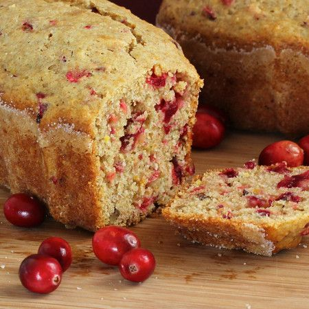 Mini Corn Loaves With Cranberries And Pecans Recipe — Dishmaps