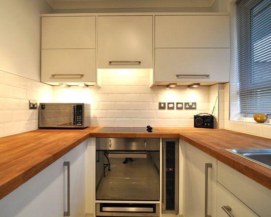 U Shaped Kitchen Designs Kitchen Design Pinterest