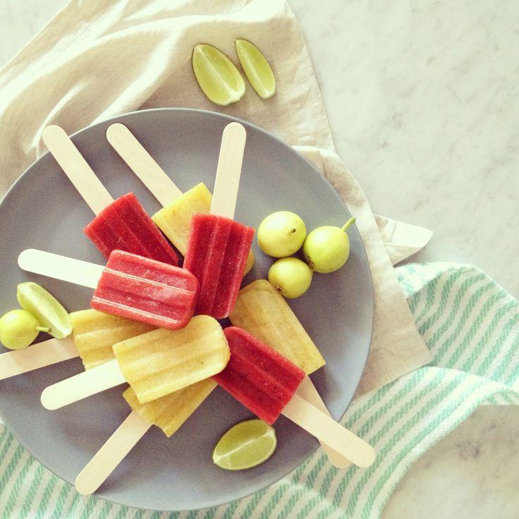 Strawberry & basil; mojito icepops | | icepops | | Pinterest