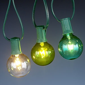 Seaside-Colored Bulb String Lights, Set of 10 - $14.99