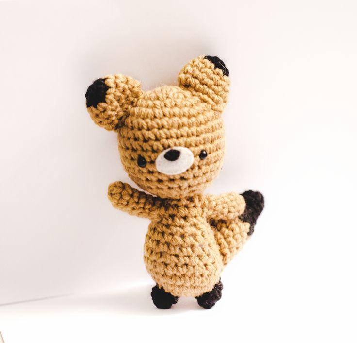 Amigurumi Fox Free Pattern : Pin by Ruth & The Polar Bear on FREE Amigurumi Patterns ...