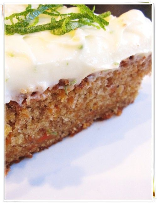 Sigrid's Carrot Cake Recipe — Dishmaps