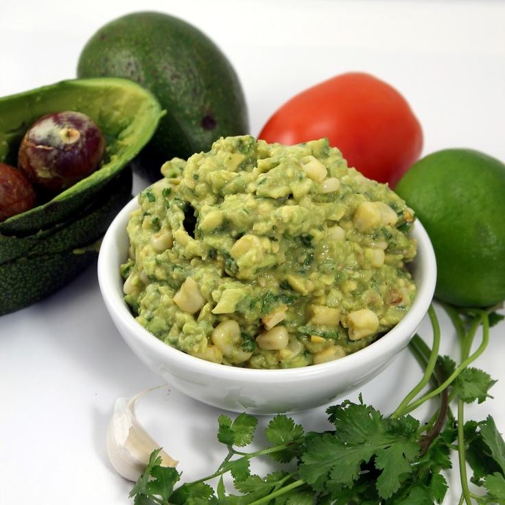 Roasted Sweet Corn Guacamole #guacamole | Yum | Pinterest