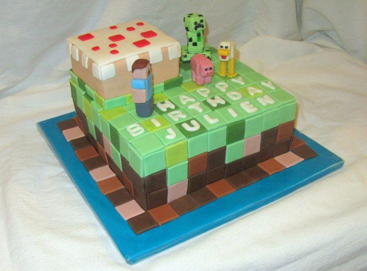 Children s Birthday Cakes - Minecraft! Party Pinterest