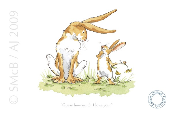 Guess How Much I Love You | Rabbits | Pinterest