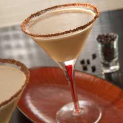 Cheers! Coffee Ice Cream Martinis #starbucksicecream
