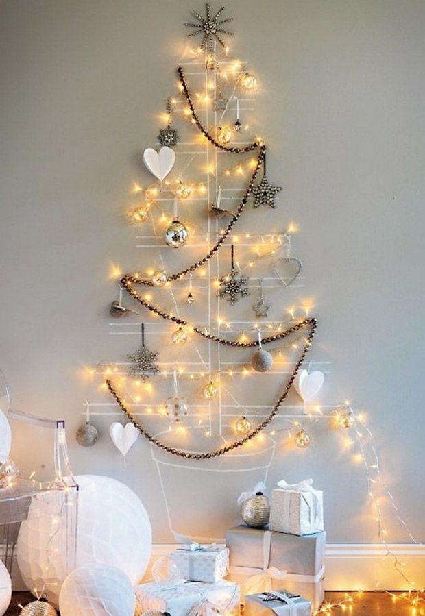 Árvores de Natal criativas. Veja mais: http://www.casadevalentina.com.br/blog/materia/rvore-de-natal-criativa.html  #decor #decoracao #design #details #detalhes #natal #christmas #casadevalentina