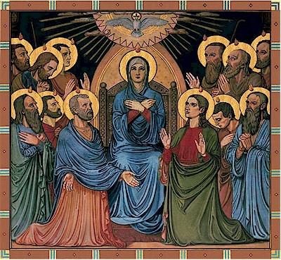 catholic pentecost icon