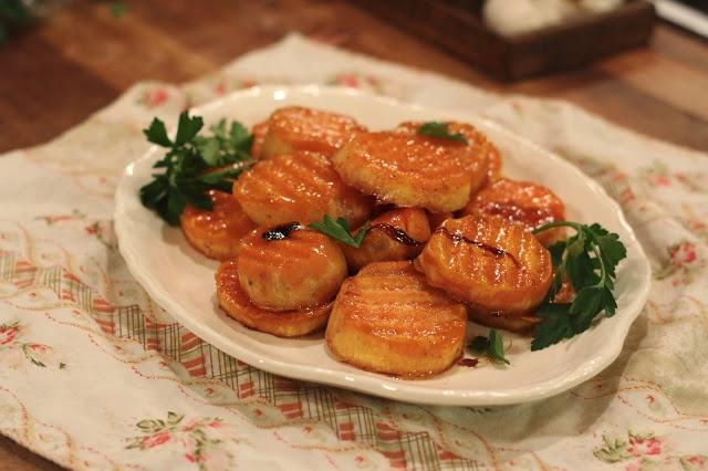 Maple Glazed Sweet Potatoes | Recipes | Pinterest