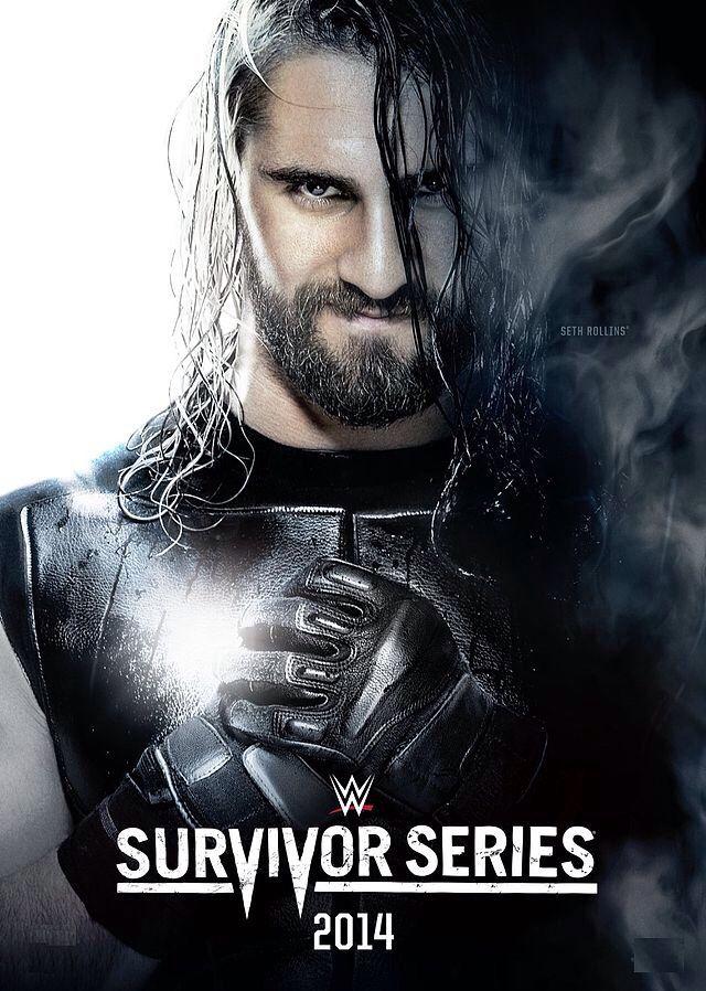 WWE Survivor Series 2014 Poster Featured Seth Rollins