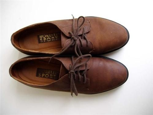 Etsy Transaktion - Vintage Brown Suede Oxford Shoes - Women's 7 - Made
