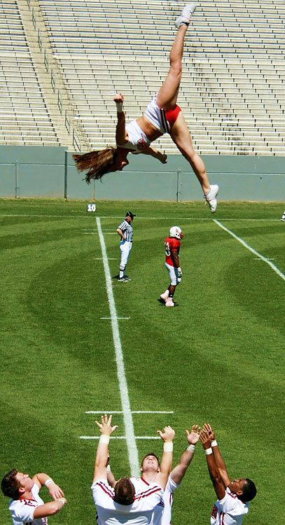 and you say cheering isn't a sport...