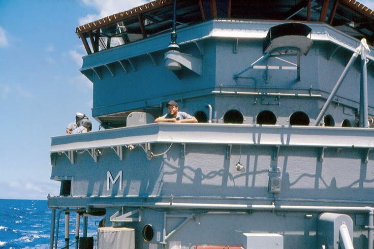 uss fortify mso 446 us navy ocean going mine sweeper view looking aft