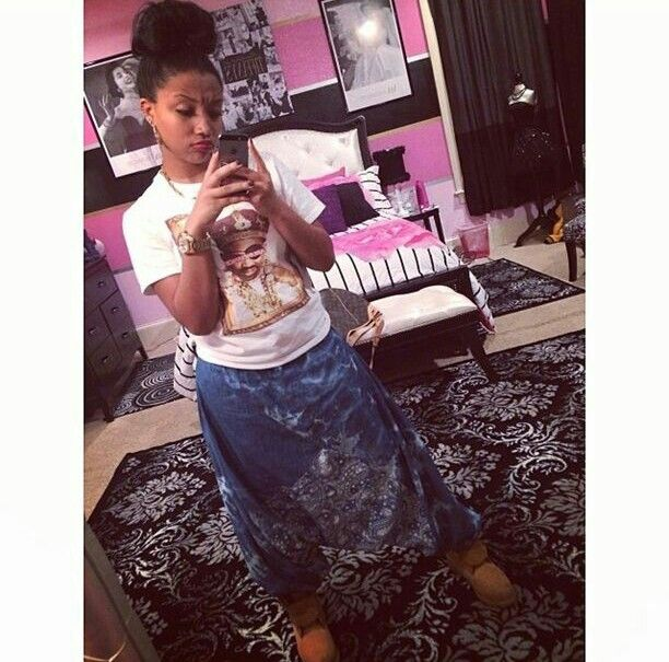 zonnique pullins from the omg girlz zonnique pullins pinterest