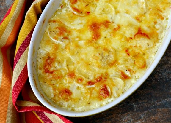 Smokey Turnip and Parsnip Gratin a perfect holiday side