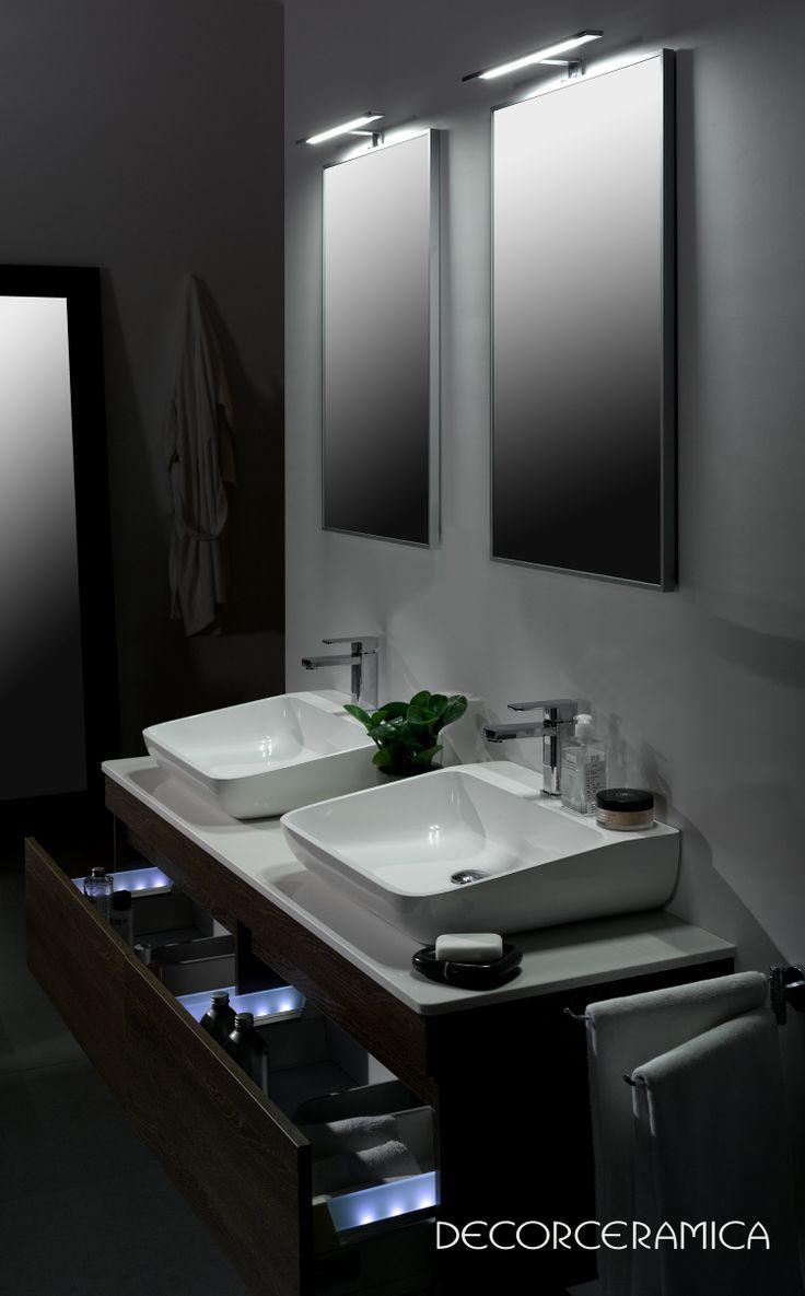 Muebles Para Baño Klipen:Pin by Decorceramica on Baños Muebles y Espejos