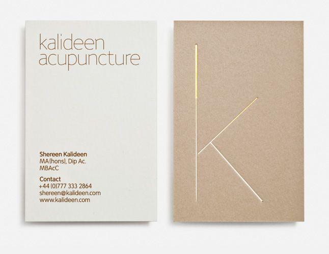 Kalideen acupuncture tarjetas de presentacion pinterest for Acupuncture business cards