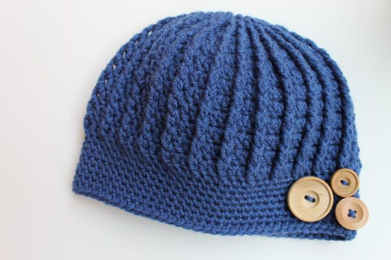 Crochet Ribbed Hat : Crochet Ribbed Hat, Adult Hat, Womens Hat, Teen Hat, Ribbed Beanie, H ...