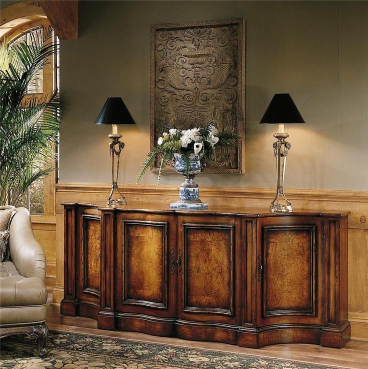 Seven Seas Credenza by Hooker Furniture fice