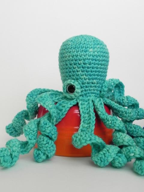 Crochet Pattern For Octopus : crochet octopus Crochet Pinterest