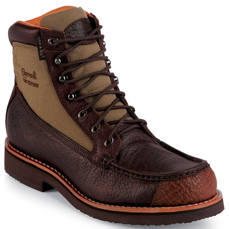 24941 chippewa s bison wp boots briar