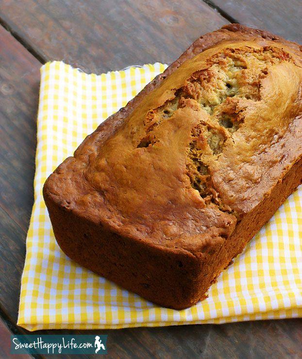 Whole-Wheat Banana Blueberry Bread | Recipe
