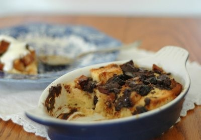 TWD: Four Star Chocolate Bread Pudding