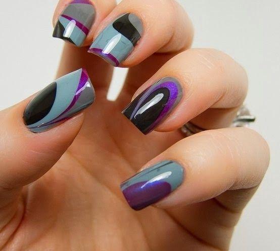 Stylish & Trendy Nail Paint Fashion 2014 | KlothesKitty | Pinterest