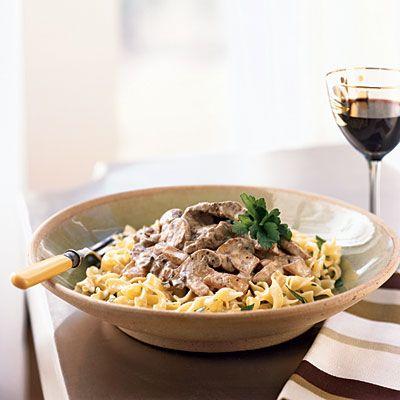 beef-stroganoff | Yummy Food | Pinterest