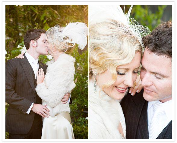 20s-inspired wedding wardrobe | Hair, Makeup & Look {our wedding insp