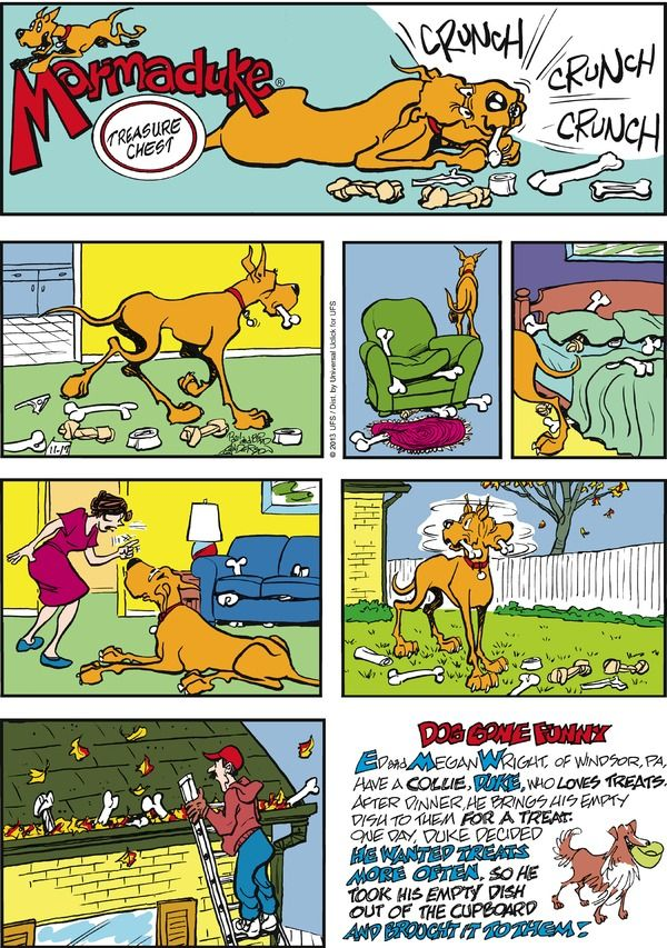 Marmaduke cartoon strip