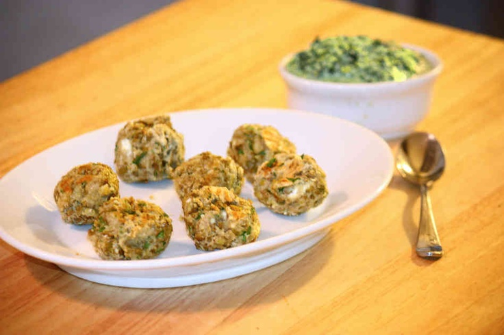 "Lentil recipes including lentil ""meatballs"" with lemon pesto."