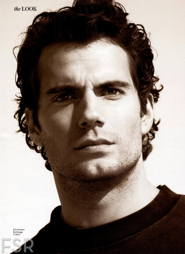 Henry Cavill in magazine