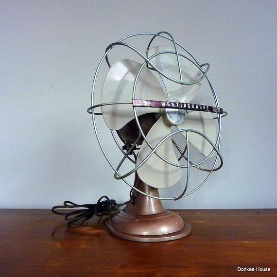 Vintage Desk FanVintage Desk Fan