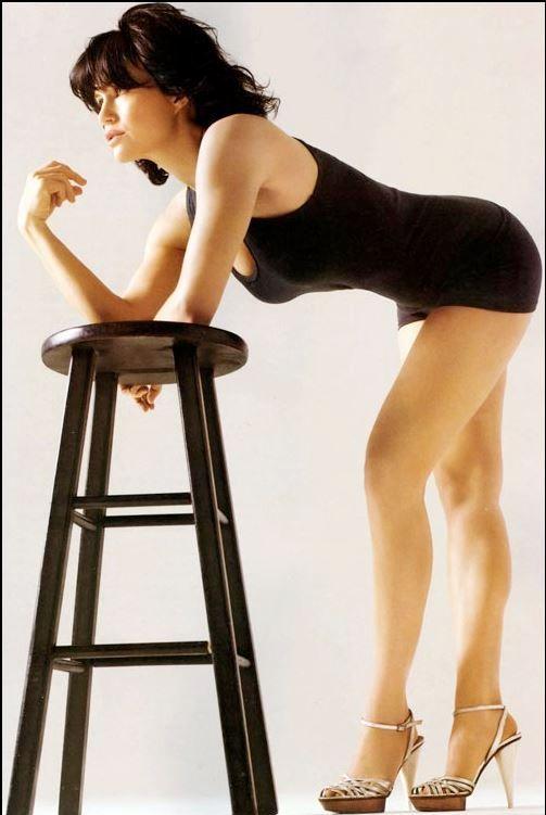 Carla Gugino | ♥She's Got Legs (leg workout motivation ... Legs