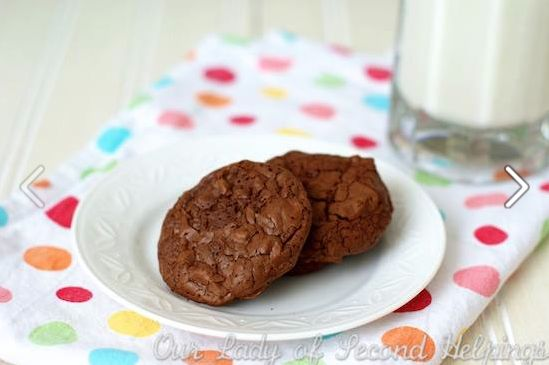 Double Chocolate Chunk Brownie Chocolate Cookies - Our Lady of Second ...