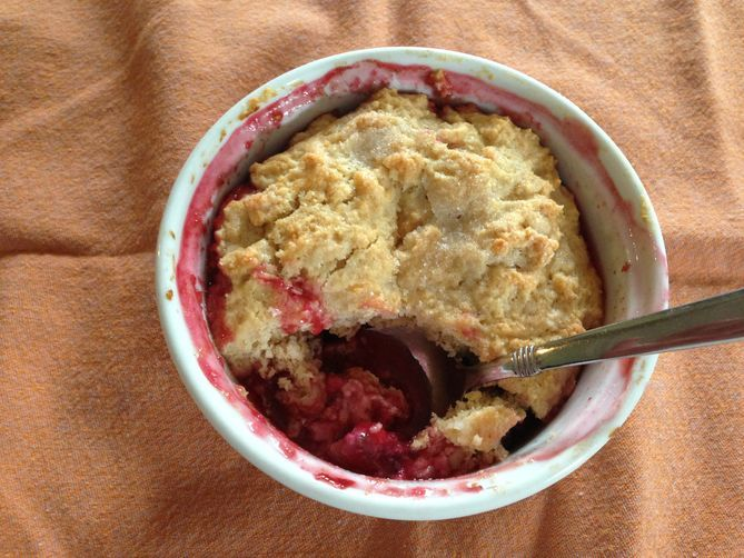 Spiced Plum Cobbler | Recipe