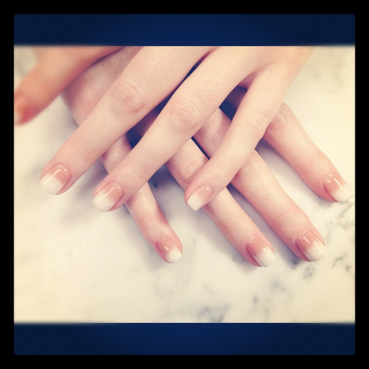Ombré shellac nails by Natalie | My Style Pinboard | Pinterest