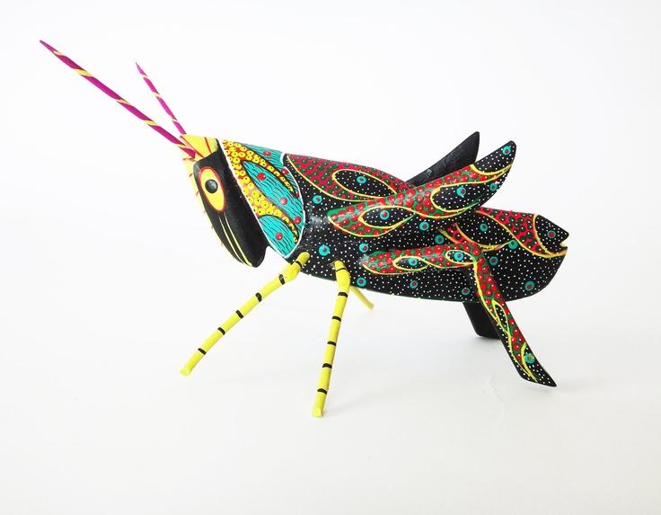 Wood cricket II | Animal Art | Pinterest