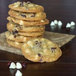 cranberry pretzel cookies jumbles oatmeal cranberry white chocolate ...