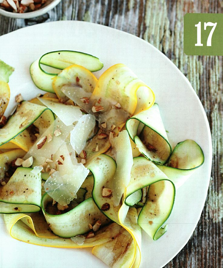 Shaved zucchini & summer squash salad | SPRING 2014 | Lab #3 Soups, S ...