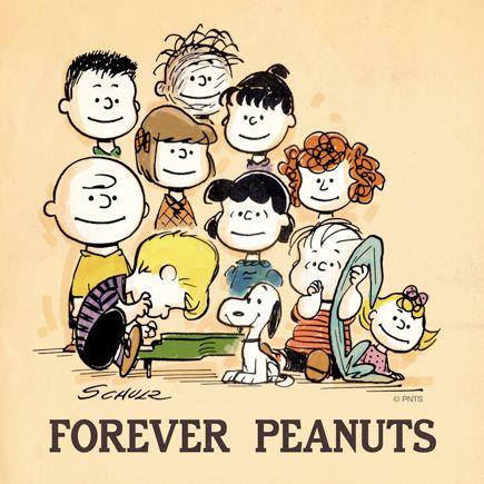 the first peanuts comic strip