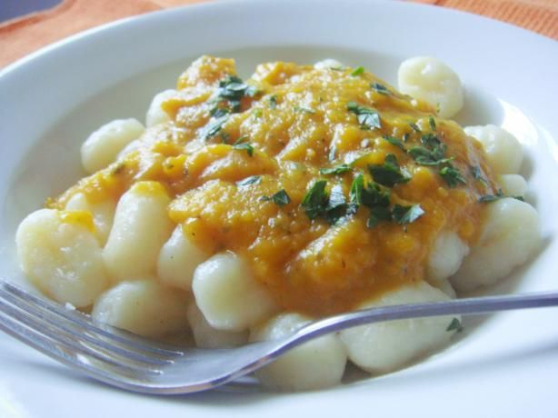 Edesia's Butternut Squash Pasta Sauce. Photo by Lori Mama