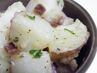 Vittles and Bits: Warm Potato Salad with Mustard Vinaigrette