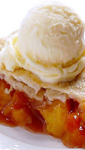 Peach Bourbon Pie | Recipe