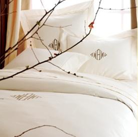 Anna Sova's Luxury line of organic cotton Italian linen